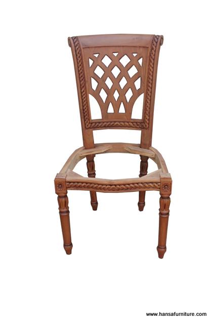 Indonesia Teak Indoor Furniture Dining Chair Hansa Furniture